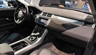 2017 Range Rover Evoque Front Cabin