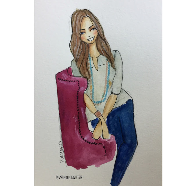 Sprinkle on Glitter Blog// Sketchworthy Reads// Annie F Downs