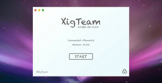 Download XigTeam tool for iOS 10.3.3/10.3.2 Jailbreak to be released after the September 12th event.