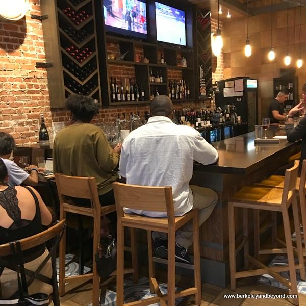 bar at La Marcha in Berkeley, California