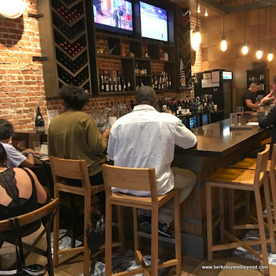 bar at La Marcha in Berkeley, California