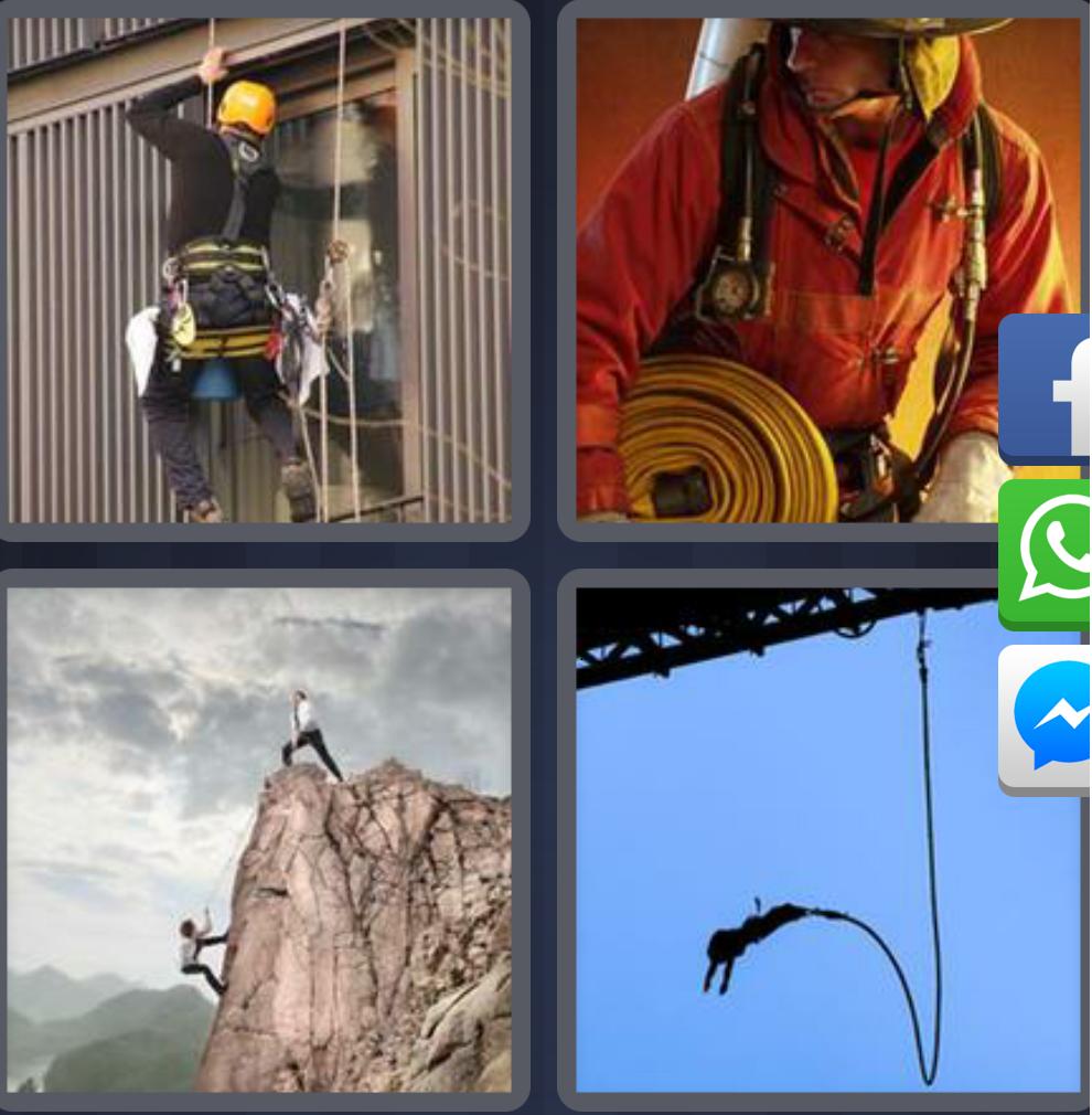 Soluciones 4 Fotos 1 Palabra Nivel 16-30