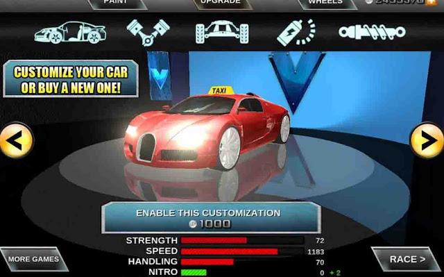 لعبة سائق الاجرة Crazy taxi