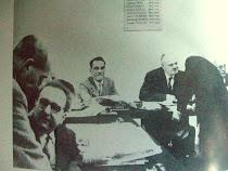 Avec Maurice Thorez au Bureau Politique du Parti  Communiste français