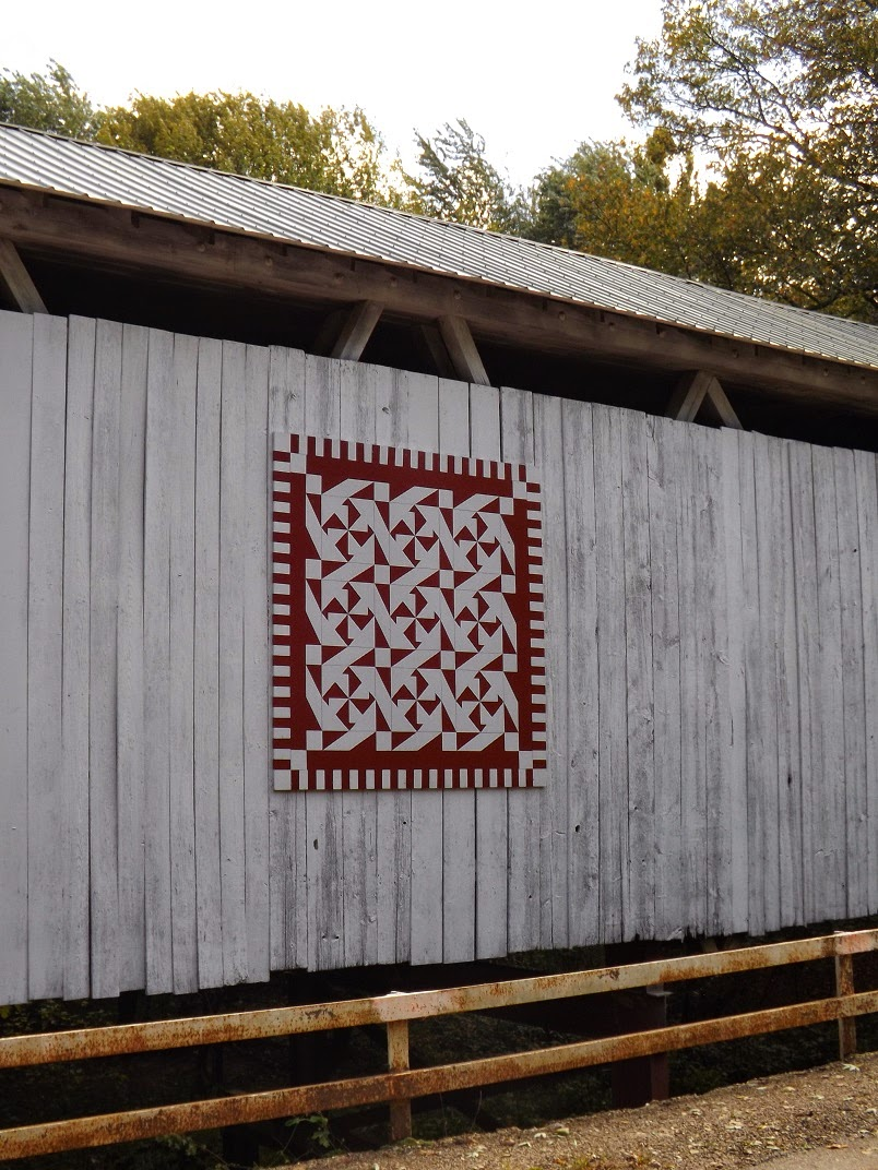 Barn Quilts And The American Quilt Trail Catching Up Again
