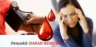 gejala darah rendah