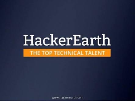Hackerearth internship - Placement