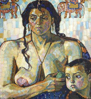 Strangers (1913), Tora Vega Holmstrom