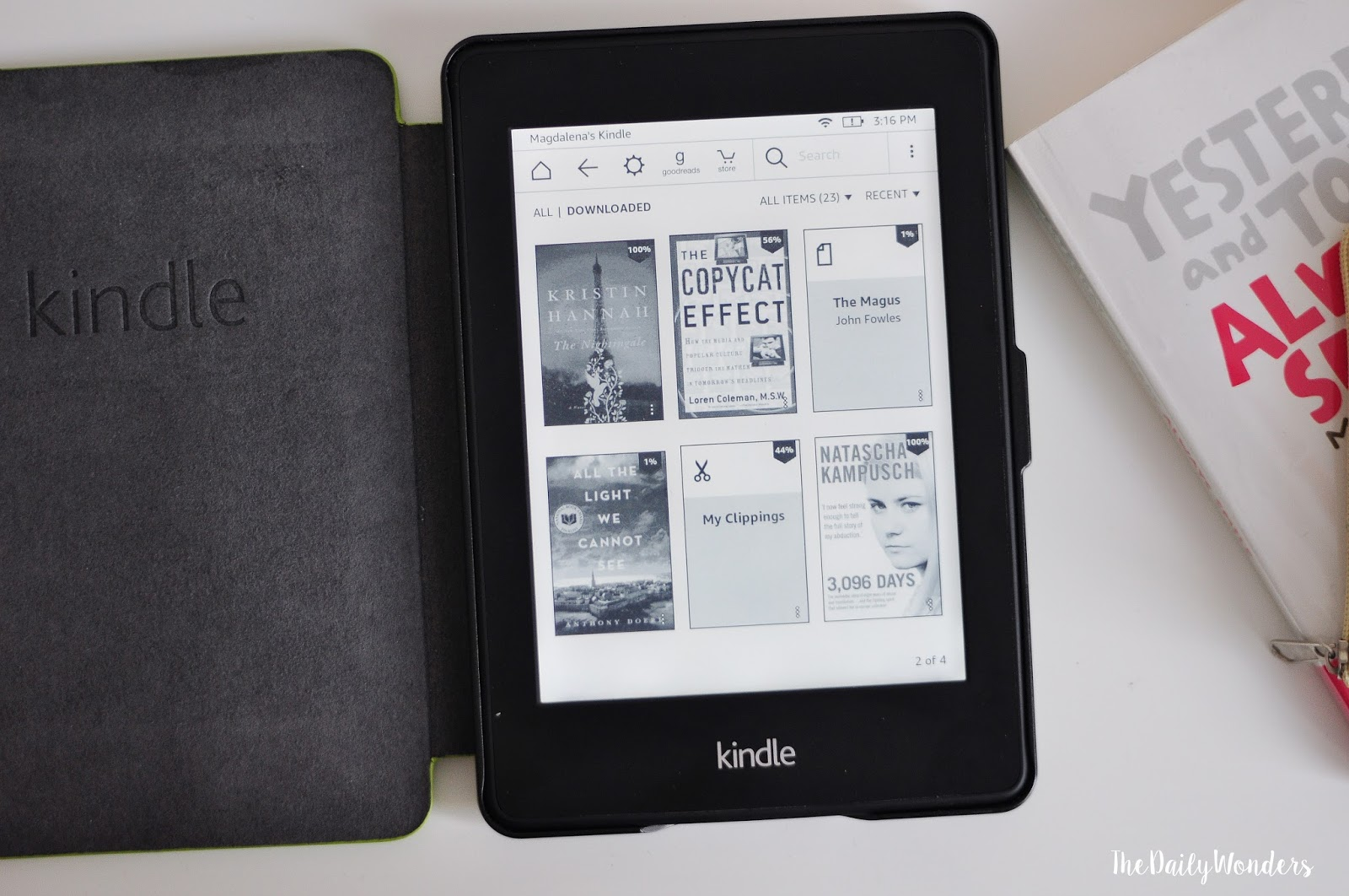 Kindle Amazon Paperwhite opinion