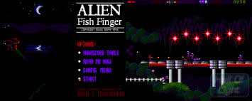 ALIEN FISH FINGER (COMMODORE AMIGA)