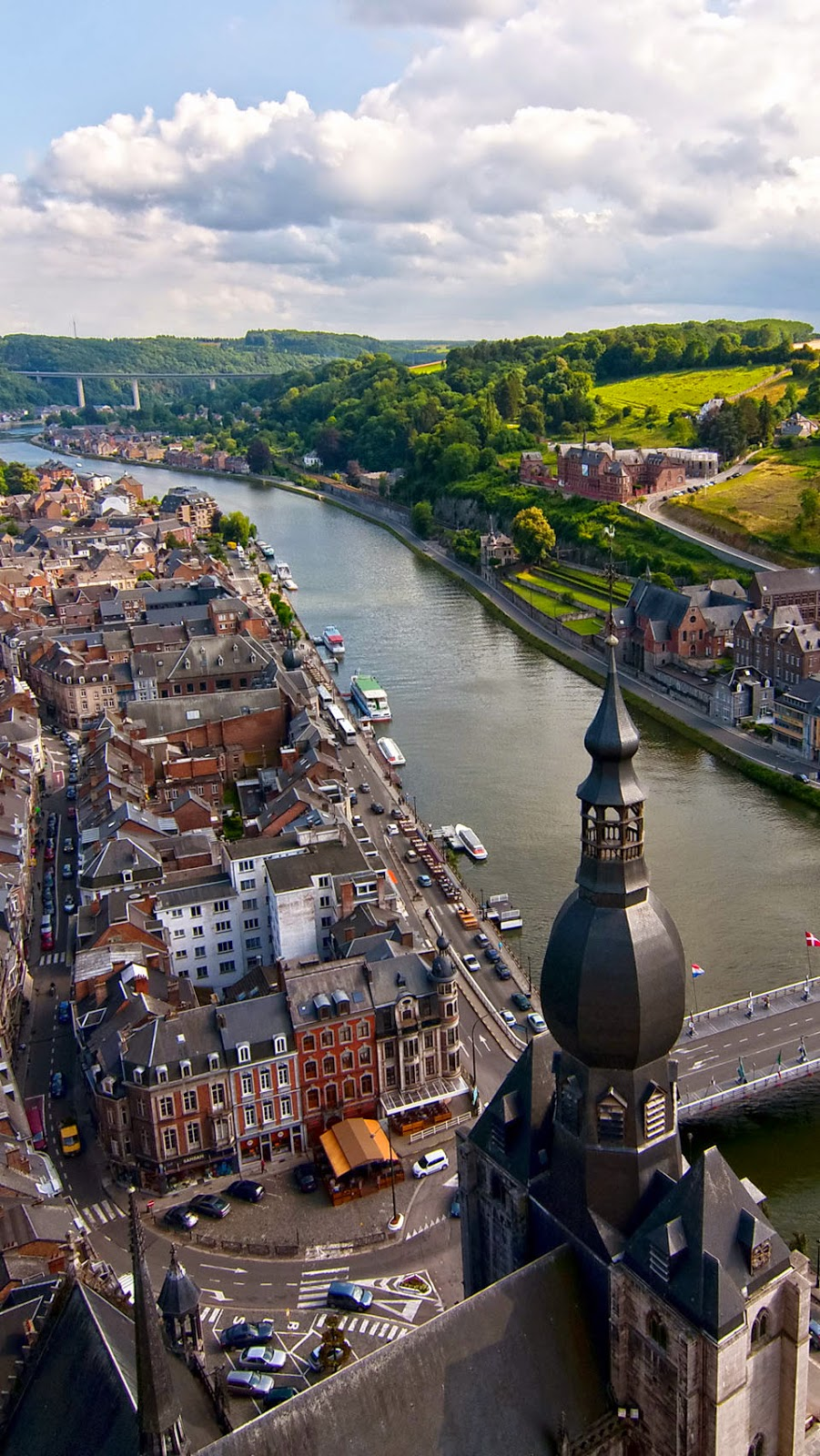 10 Best Places to Holiday in Belgium (100+ Photos) | River Meuse in the Belgian province of Namur, Belgium