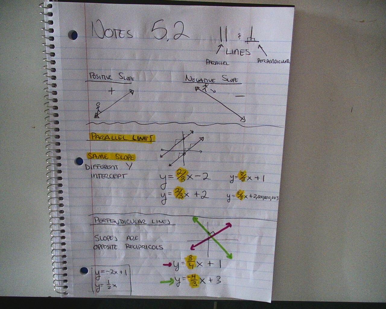 Mr Brzenski S Math Class November