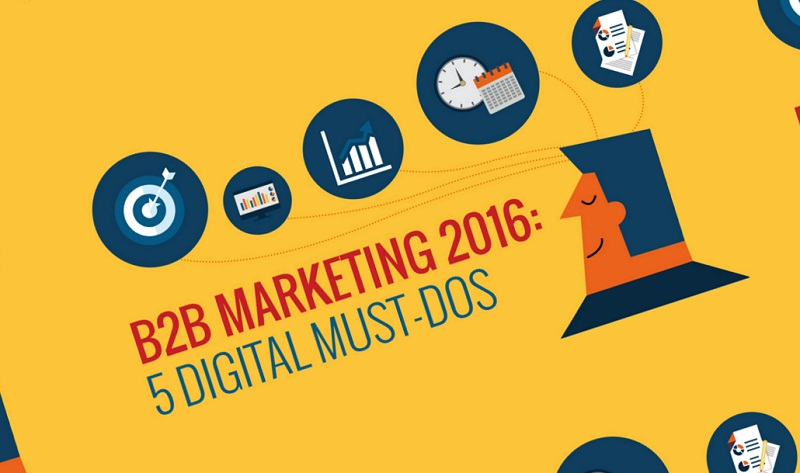 B2B Marketing 2016: 5 Digital Must-Dos [Infographic]