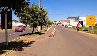 Buraco na avenida transamazônica em Oeiras mostra o descaso com a população