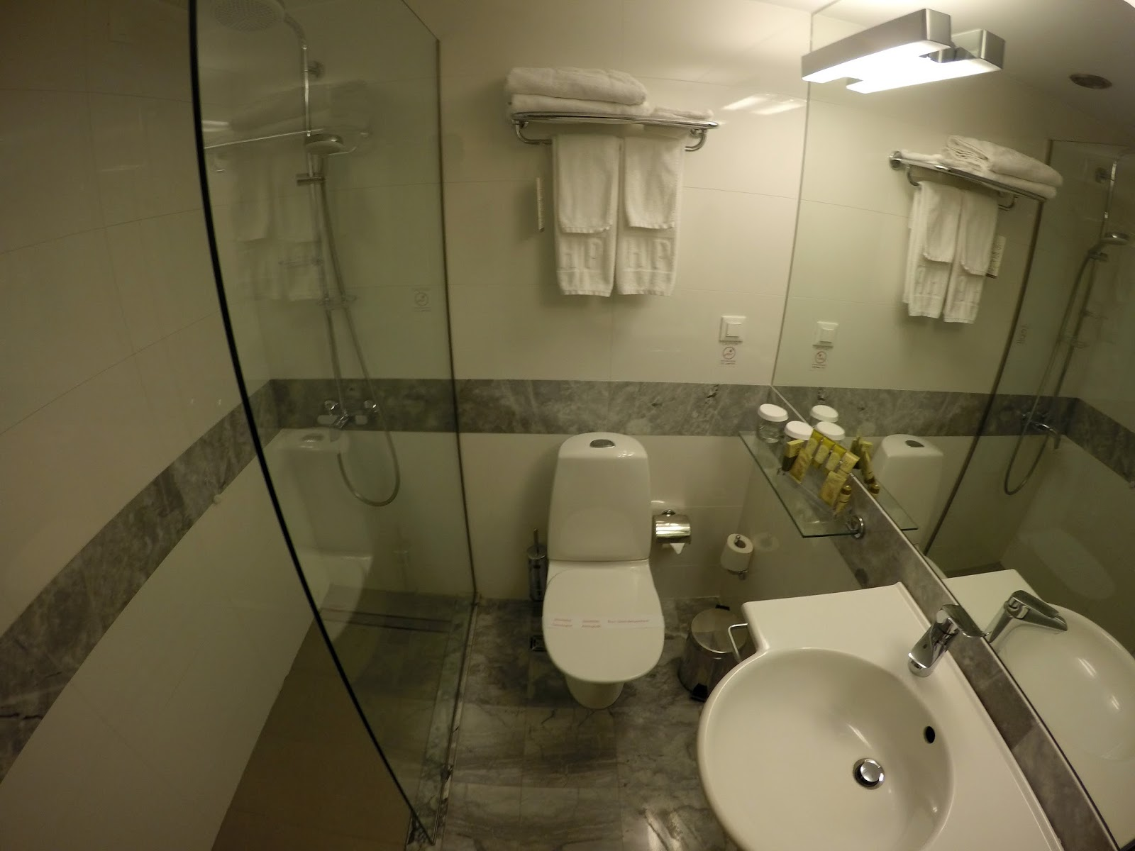 The Herodion Hotel Bathroom