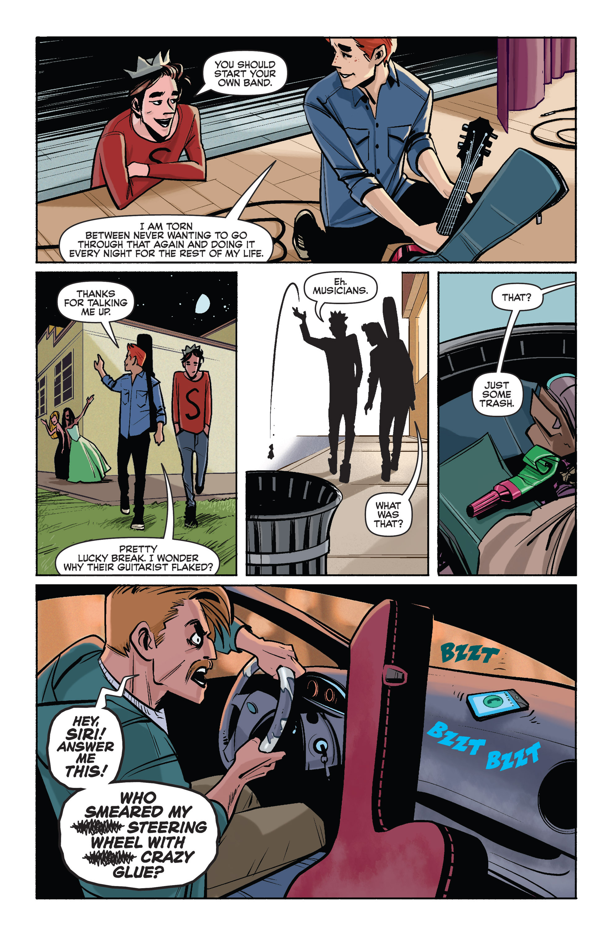 Read online Archie (2015) comic -  Issue #1 - 22