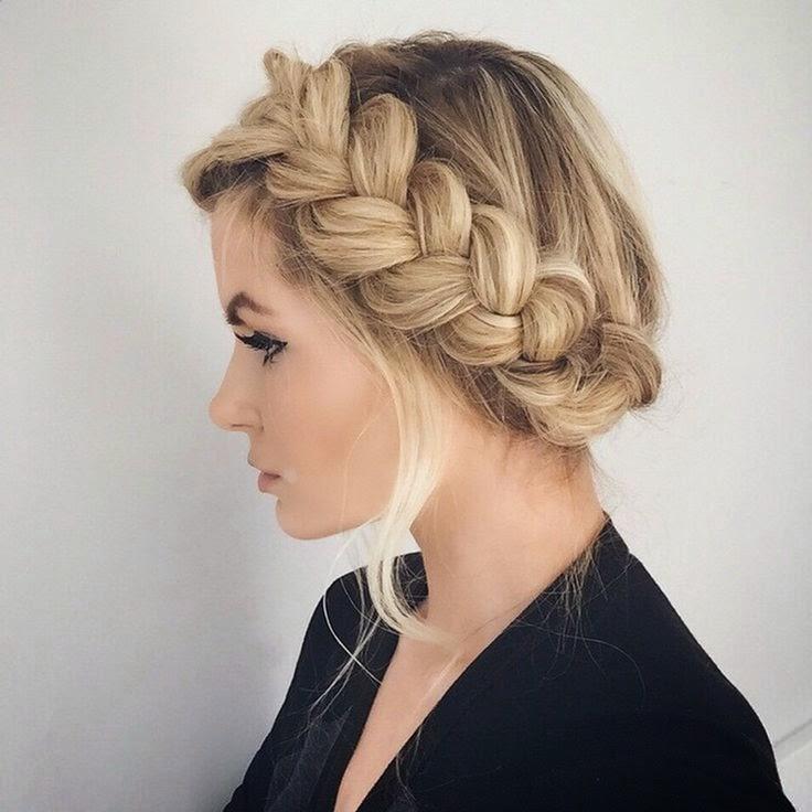 The Dutch Braid Photos And Video Tutorials The Haircut Web