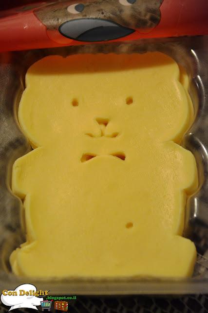 עמק בצורות לילדים דובי Teddy bear cheese