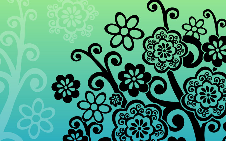 art flower design - photo #7