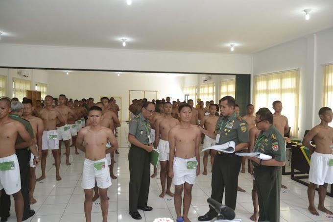 331 Calon Tamtama TNI AD Lulus Pantukhir Di Rindam II/Swj