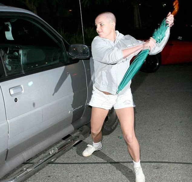 Guess what! Britney Spears' Paparazzi Attack Umbrella goes on auction