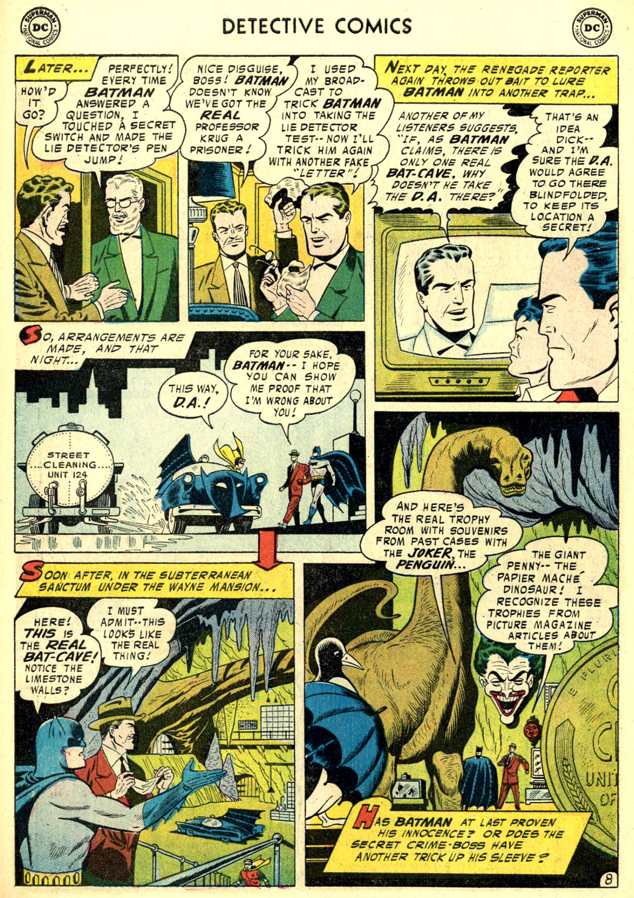 Read online Detective Comics (1937) comic -  Issue #240 - 10