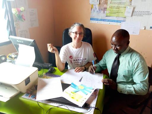 Karin Lachmann und ihr Einsatz in Kamerun