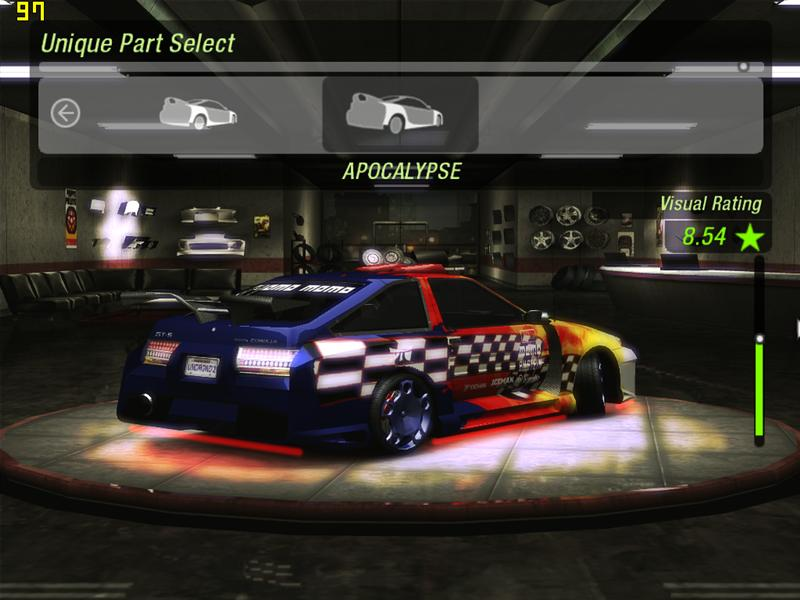 Need for speed underground 2 pc / Llantas renault megane coupe