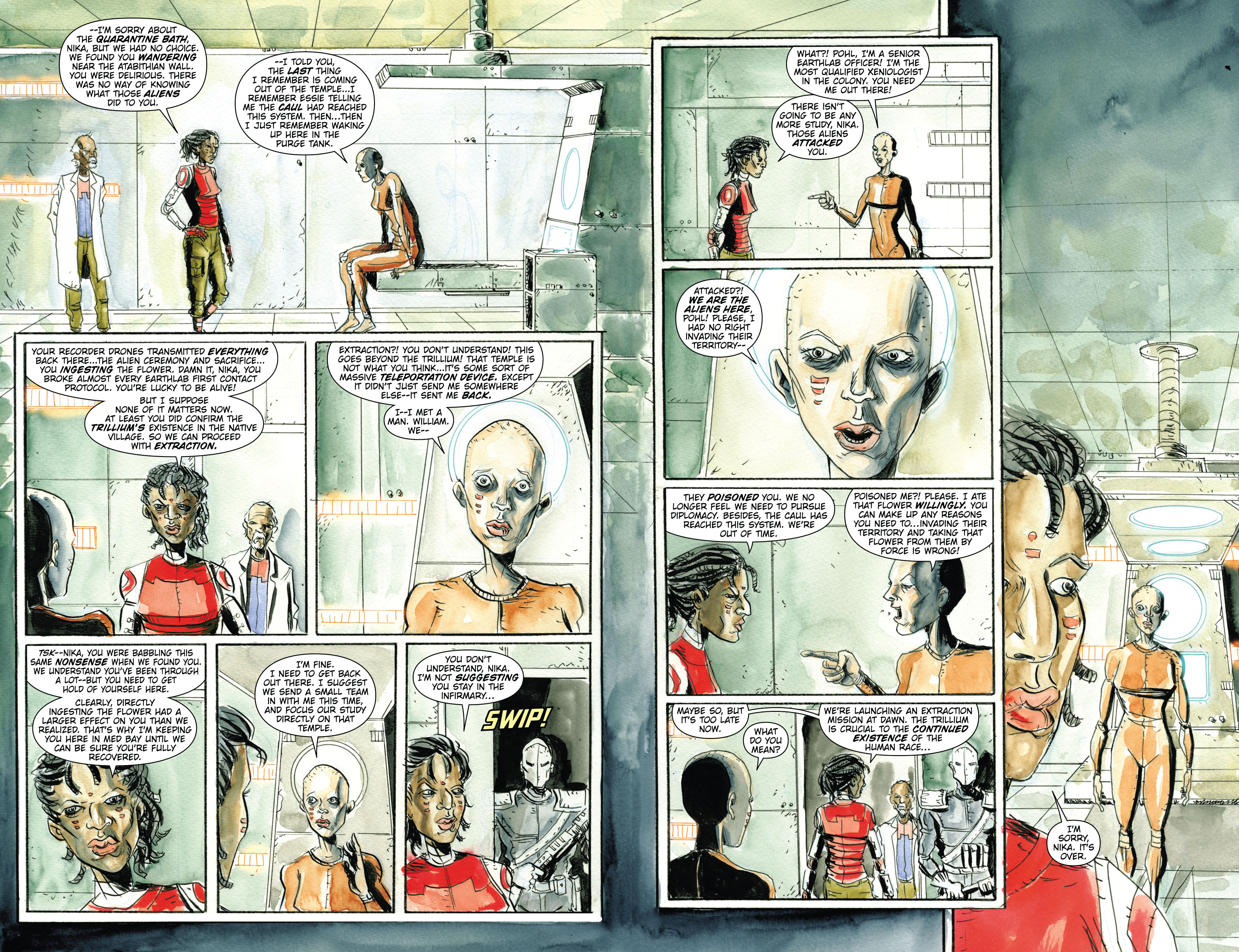 Read online Trillium comic -  Issue # TPB - 60