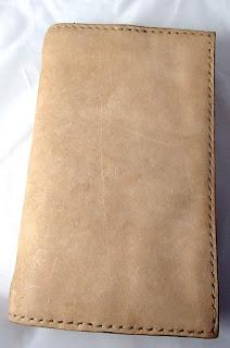 Couverture de livre en cuir