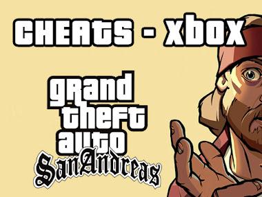 Cheats GTA San Andreas Xbox (Códigos, trapaças, senhas)