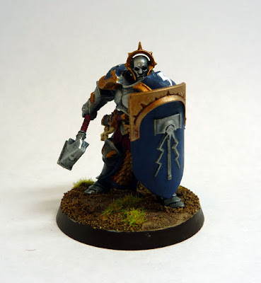Stormcast Eternal Liberator, Hallowed Knights stormhost, for Warhammer Age of Sigmar.