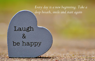 Every day is a new beginning, Take a deep breath, smile and start again