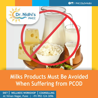 milk products are asked to avoid at PHCC