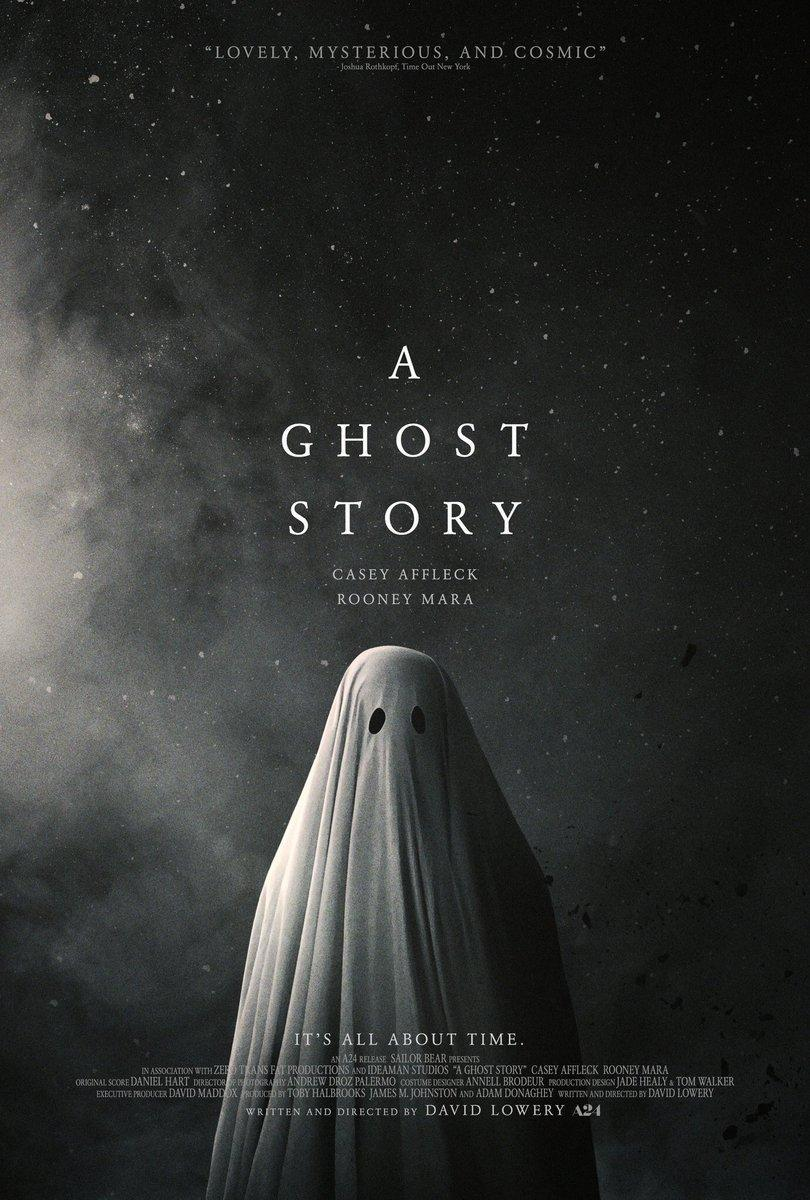 A Ghost Story - Pelicula cartel