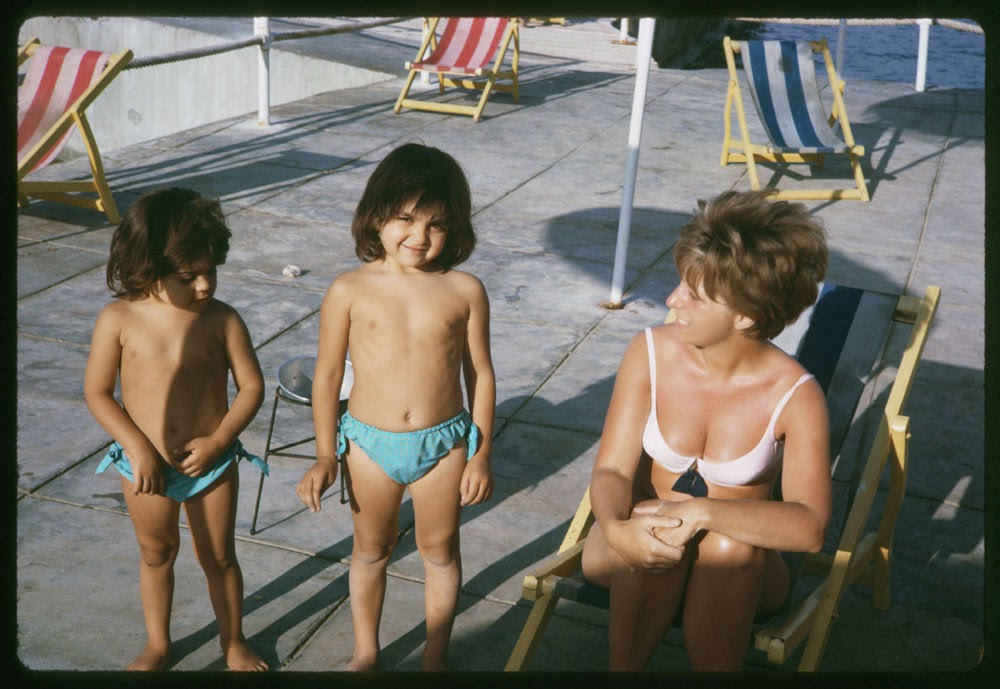 Kalifa Girls Beirut Beach; May 8 1965