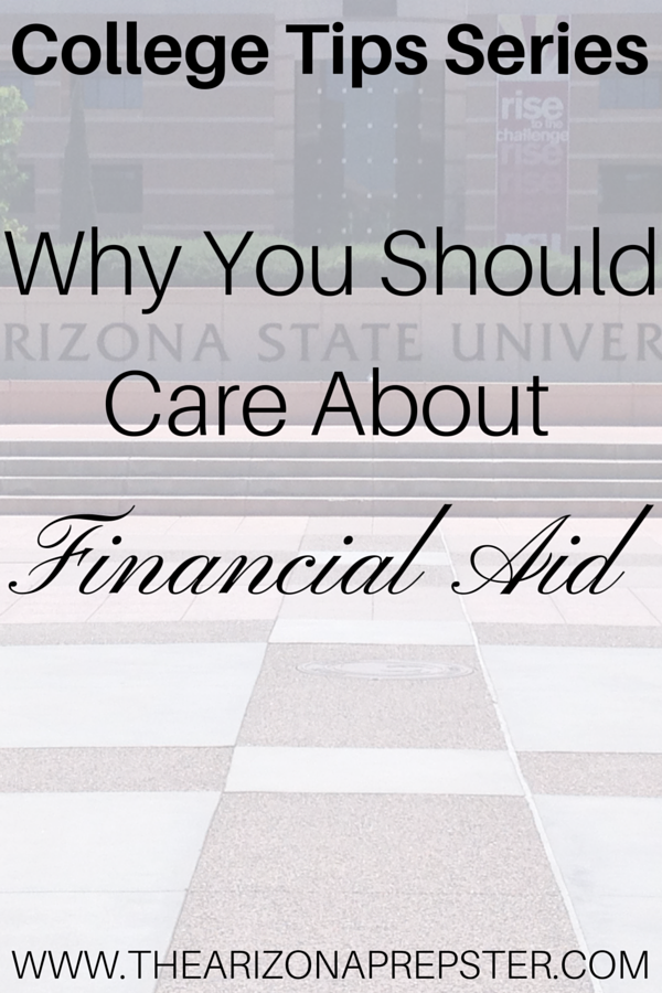 Why You Should Care About Financial Aid