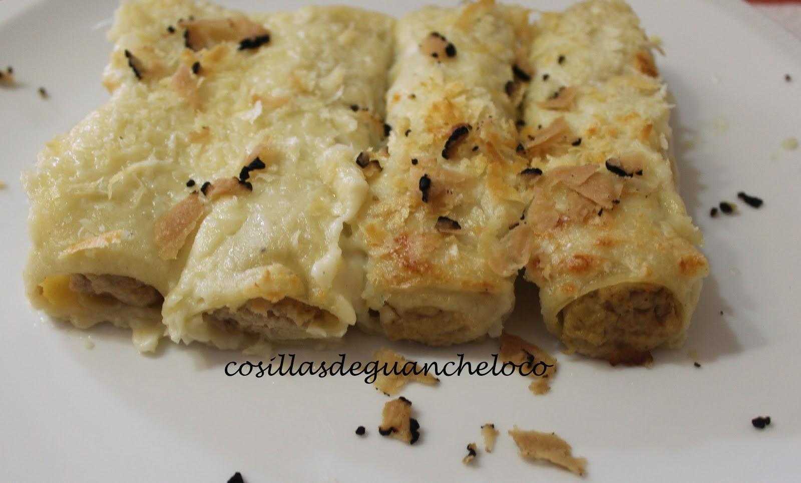 Cocinar Pollo De Corral | Aprendiendo A Cocinar Cosillas De Guancheloco Canelones De Pollo