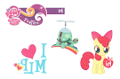 MLP Tattoo Card 4 Series 2 Trading Card