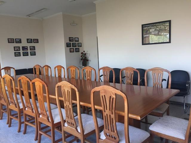 sala de reunião Delegacia Seccional de Polícia