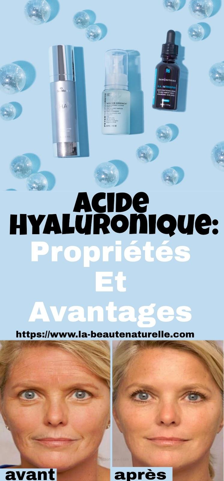 Acide Hyaluronique: Propriétés Et Avantages
