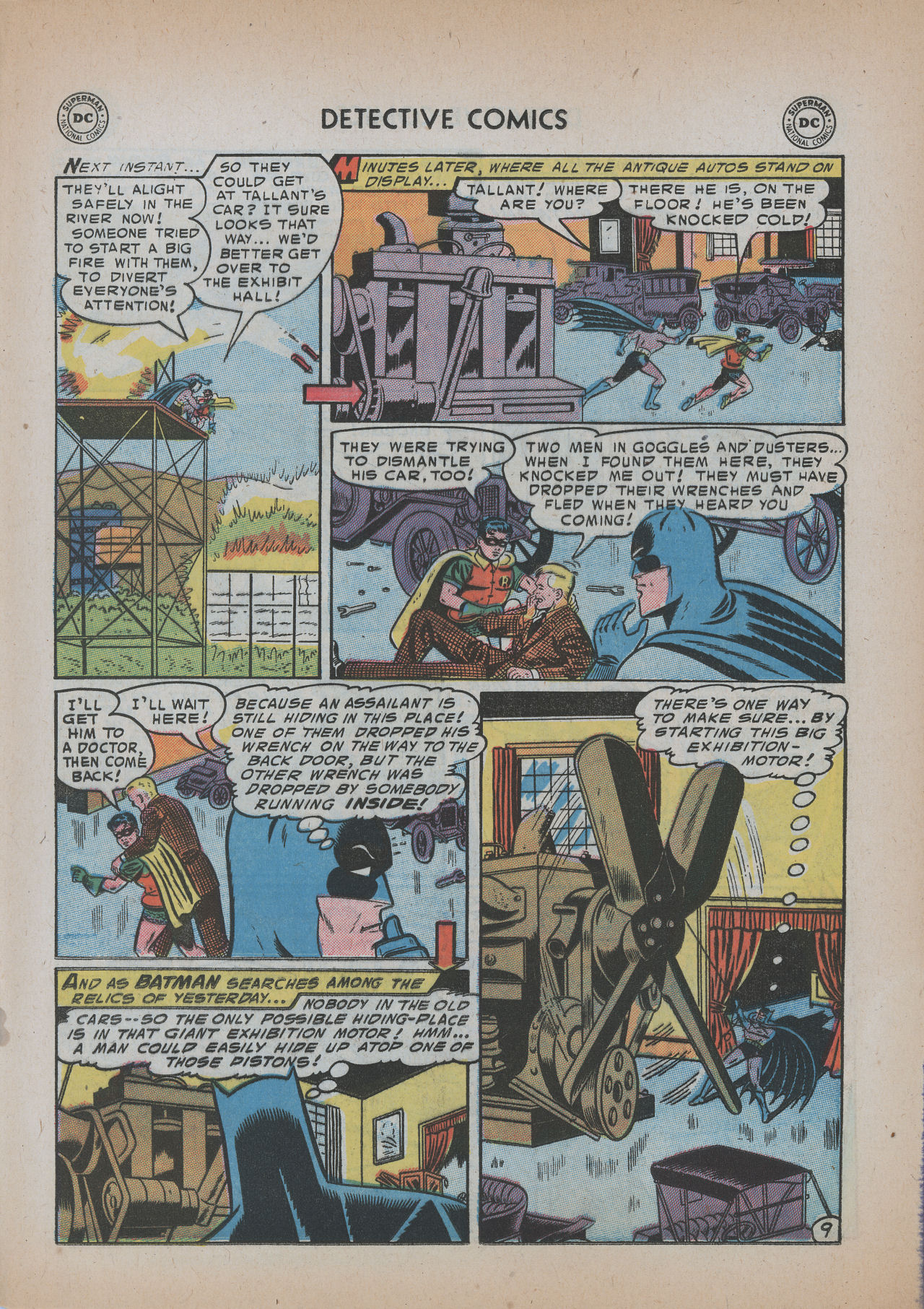 Read online Detective Comics (1937) comic -  Issue #219 - 11