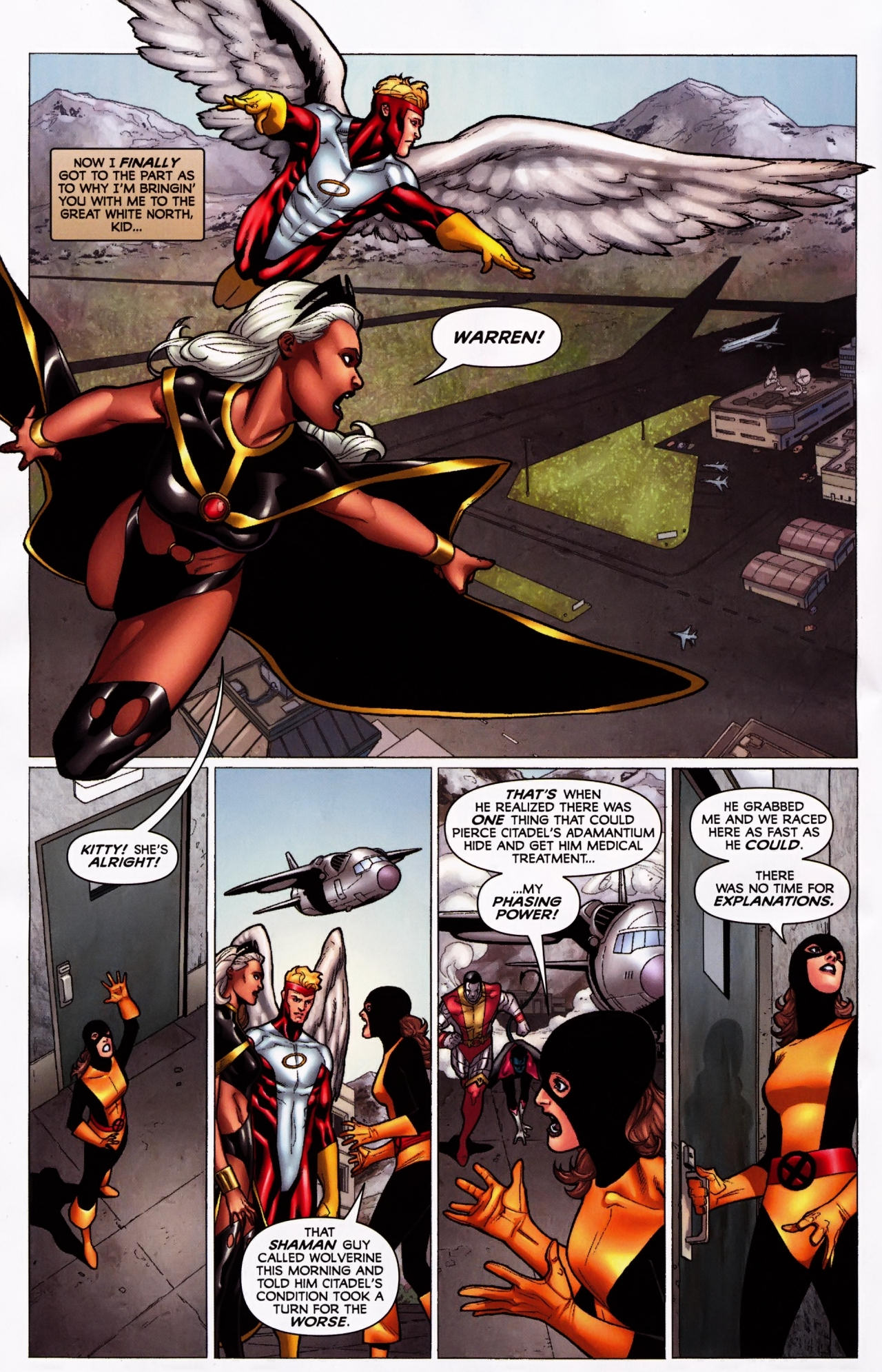 Read online Wolverine: First Class comic -  Issue #5 - 22