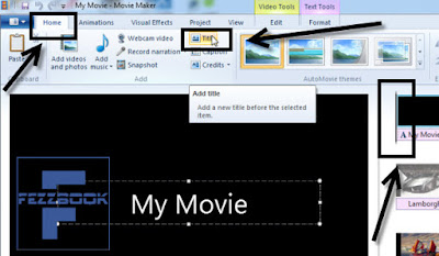 cara membuat video yang terbuat dari gambar dengan movie maker