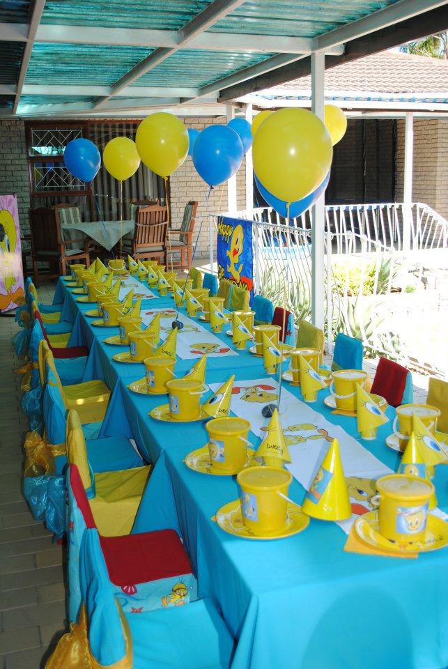 Decoracion De Fiestas Infantiles De Tweety O Piolin Arcos Con - Decoracin-cumpleaos-infantiles