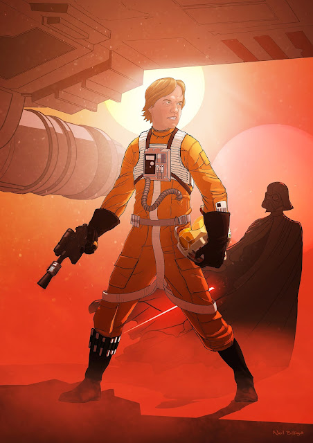 James Ryan as Rebel Pilot by Neil Billings