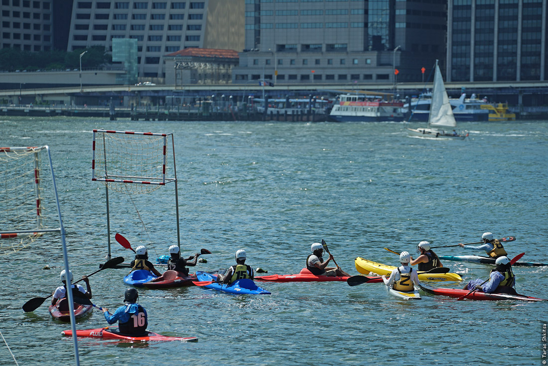 Brooklyn Bridge Park. Kayaking