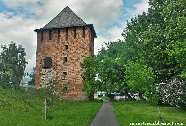 Коломенский кремль - Спасская башня