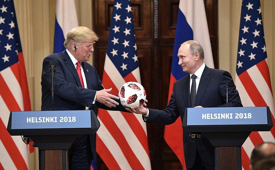 В подарке Путина Трампу нашли чип