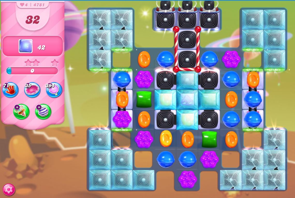 Candy Crush Saga level 4781